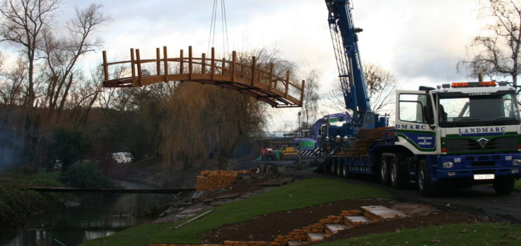 Avonholme bespoke bridge fabrication