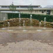 Landscape water features with Dart Fabrication