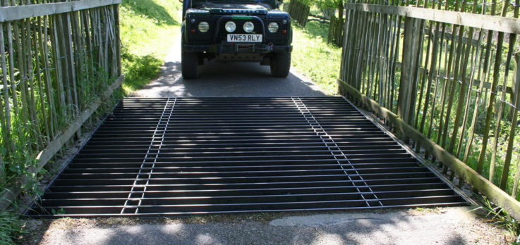 Bespoke metal deer and cattle grids