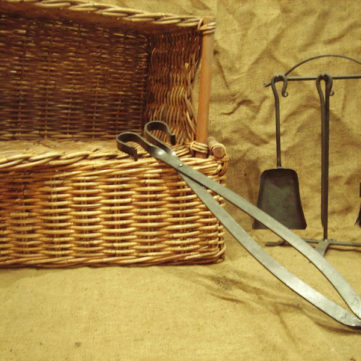 Bespoke metal hand forged fire tools
