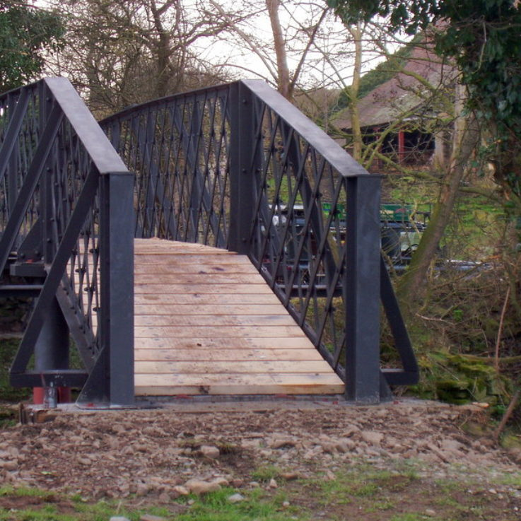Onibury bespoke bridge construction