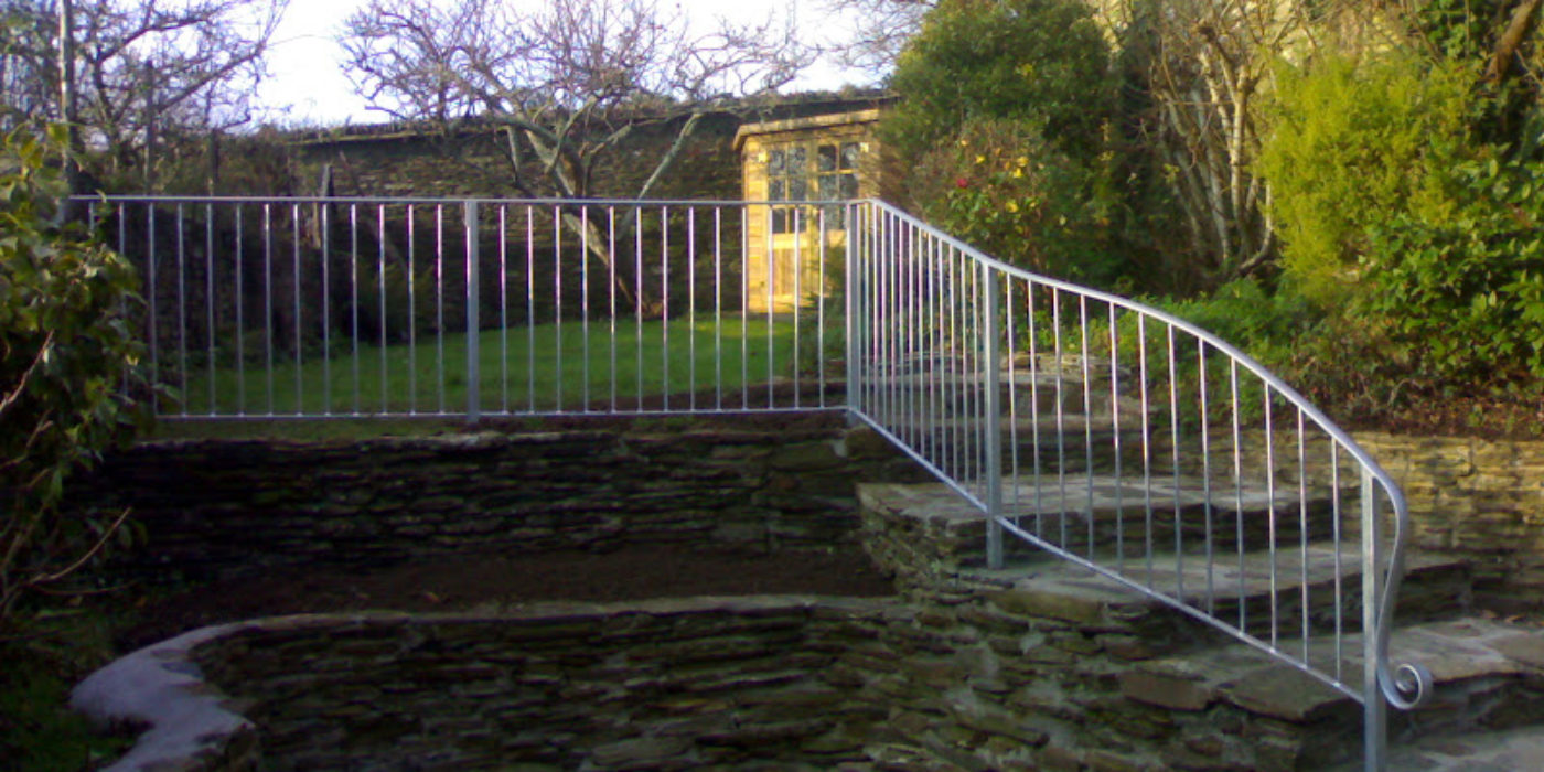 Bespoke steel railings and handrails