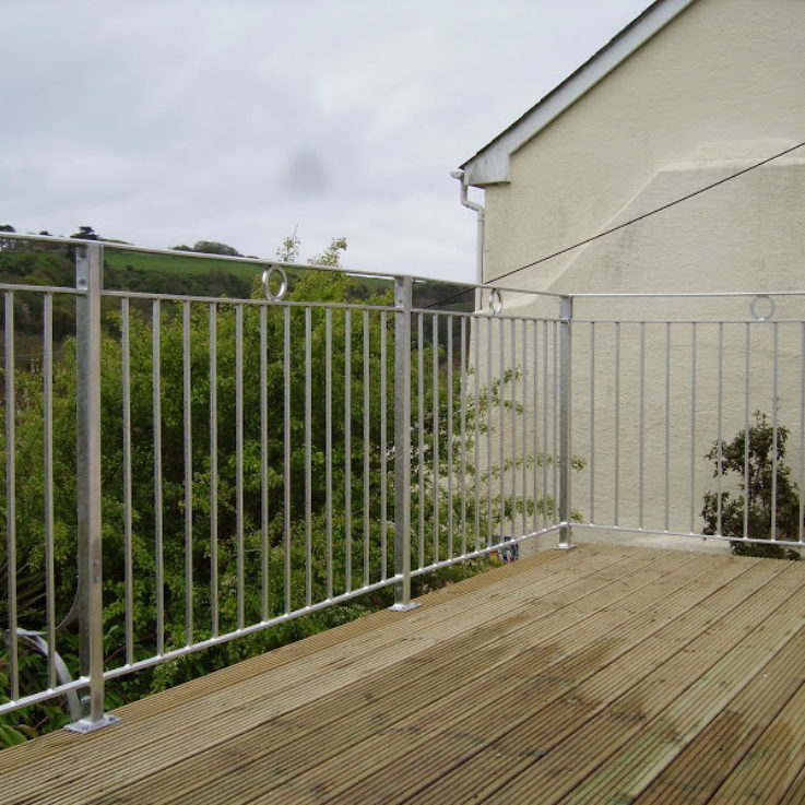 Bespoke steel railings with Dart Fabrication