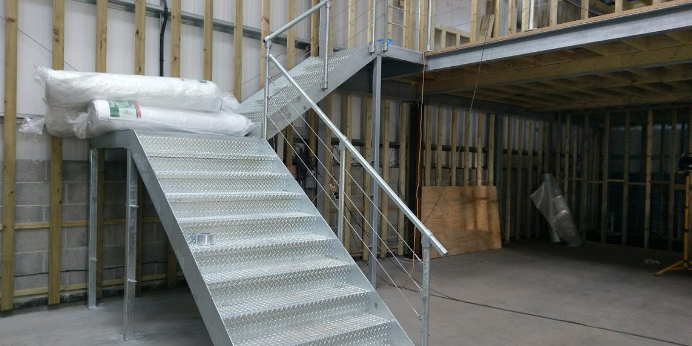 Structural steel staircases - structural steel fabrication
