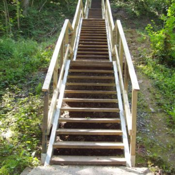 Bespoke steel and timber stairs