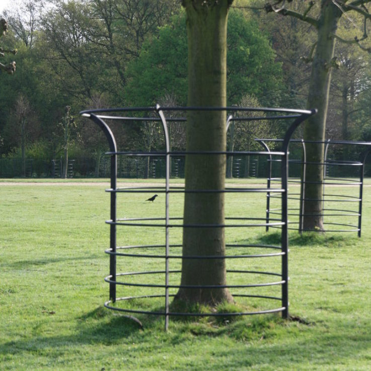 Bespoke metal tree guards for estates