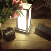 metal lamp and carriage box
