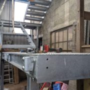 Old Mill Staircase construction