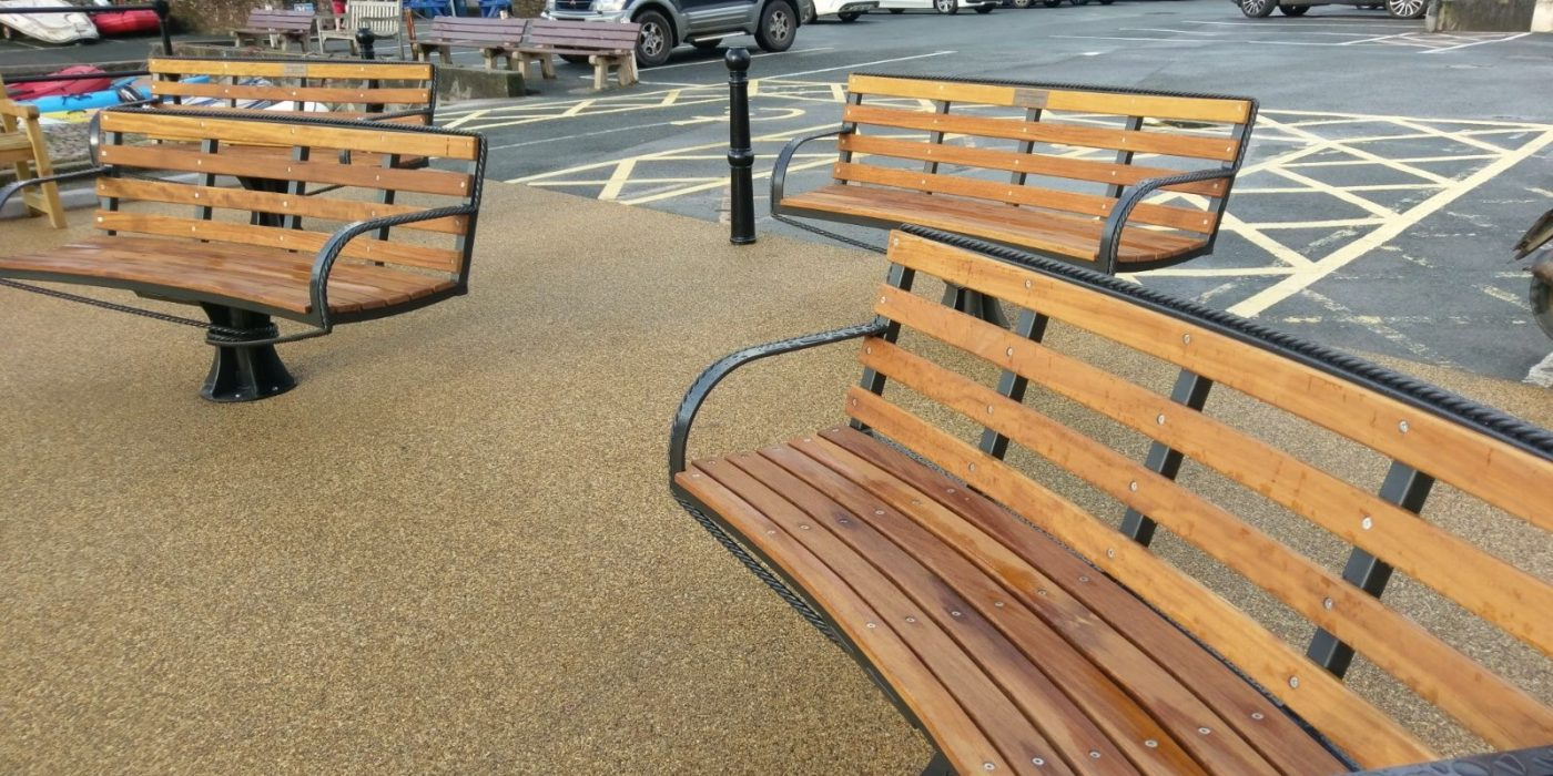 Salcombe bench group