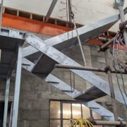 Staircase construction